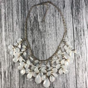 Jewelry - Ghost White Statement Necklace